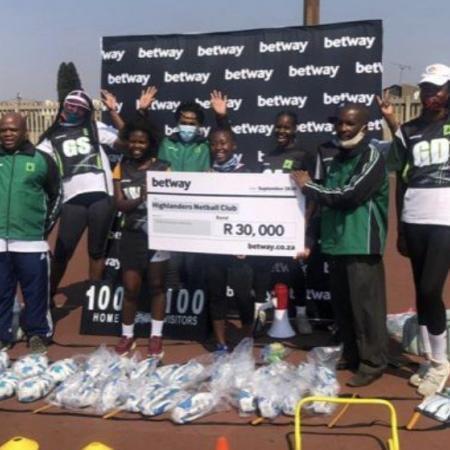 Betway SA Contributes to Katlehong Netball